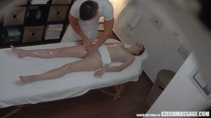 Super Slim Helena Girl Getting Massage of Her Life