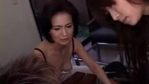 Japanese ladies showing off their wonderful handjob