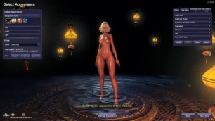 Beautiful girls with beautiful bodies to choose from Blade and Soul Nude Mod