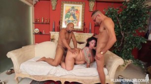 Erika Xstacy Big fat girl having fun with two dicks 5 Shane Diesel 2 Ramon
