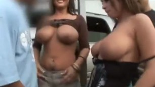 SEXY CLAIRE DAMES FUCKING ON THE STREETS WITH HOT WHORE