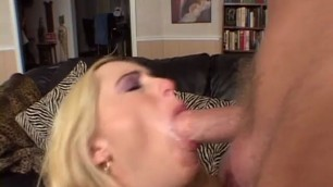 Experienced Blonde Babe Fucked Hard With His big dick