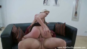 European MILF Karin Takes A Cock In Her Thick Ass