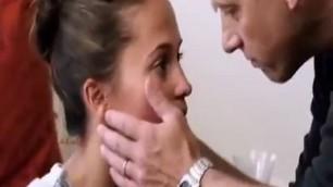 harming Brunette Alicia Vikander nude scenes