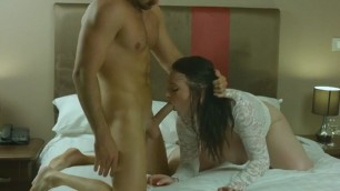 Harmony Reigns Fucks in different poses in bed hottest video
