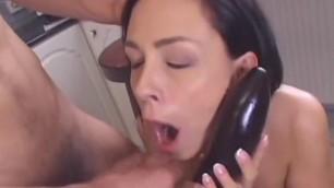 Beautiful big tits brunette Margarita Passionately fucks