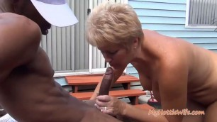 Tracy Licks Mature woman gets Caught by Naughty Neighbor