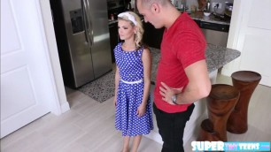 Amateur and blondie Hope Harper gets fucked in doggystyle by Sean