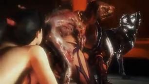 Hentai Elektra Beastly Bacchanalia