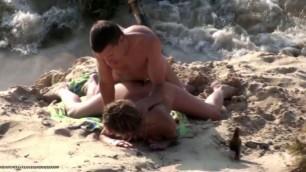 drunk sandy beach fuck