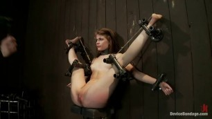 Hot Sensi Pearl in dirty and rough BDSM video
