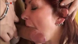 Hot 60 Year Old Gabi Still Goes Strong with Her Pink Shaved Vagina