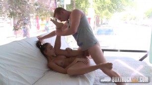 Boxtrucksex Bella Aviva Busty Wife Swallow