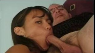 Young Mariah Milanofirst time fucked on camera Gets it by older man
